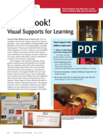 take a look visual supports for learning
