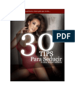 Tips Seduccion