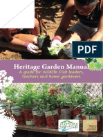 heritage garden manual