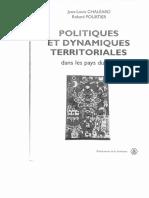 Politiques Et Dunamiques Territoriales Dans Les Pays Du Sud