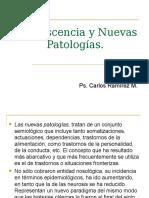 Adolescencia y Nuevas Patologías