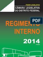 Regimento Interno CLDF 2014