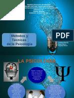métodos y técnicas de la psicología