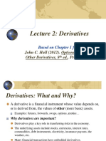 FinMath Lecture 2 Derivatives