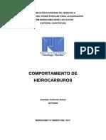Comportamiento de Hidrocarburos