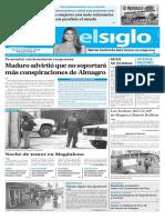 Edición Impresión Elsiglo 08-03-2017