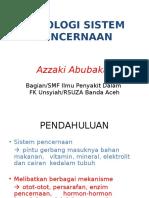 168033175 1 Fisiologi Sistem Pencernaan Dr Azzaki Abubakar Sp Pd
