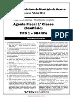 Agente Fiscal 1a Classe Sanitario g3 Agfiscal02 Tipo 1