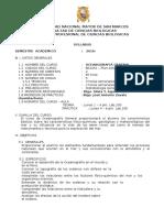 Oceanografia Gral. Plan 2003, Plan 2016-2, Prof. s. Aguilar