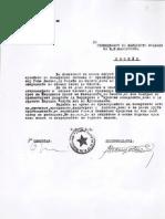 Документи за пренесувањето на посмртните останки на Гоце Делчев од Бугарија во Македонија 1946 год.