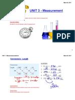 class notes - measurement