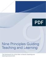 The Next Nine Principles