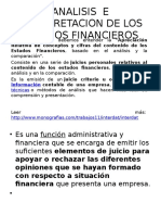 Analisis e Interpretacion de Los Estados Financieros Tarea 4