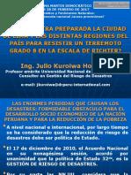 Conferencia CAMBIO CLIMÁTICO Y FENÓMENOS NATURALES