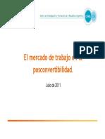 CIFRA - DT 10 - Mercado de Trabajo en La Post Convertibilidad