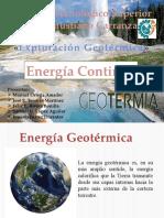 Geotermia como  Energía Continua.