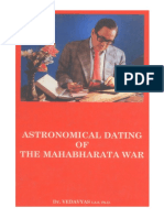 Astronomical Dating of Mahabharata