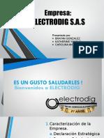 Trabajo final consultoría - Electrodig SAS