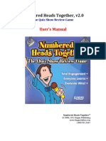 NumberedHeadsTogether Users Manual