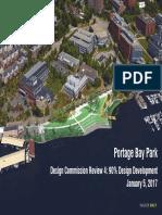 Seattle Design Commission - Portage Bay Park Presentation - 01-05-2017
