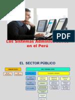 Sistemas Administrativos en El Perú