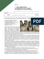 Guía Día Internacional de La Mujer Trabajadora