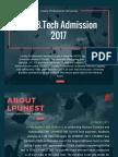 LPUNEST B.Tech Admission 2017