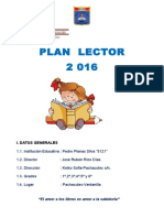 Proyecto Plan Lector - 2016