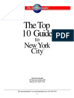 Top 10 Guide to New york City