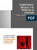 Clase14 Comptencia Desleal CONSUMIDOR