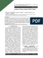 MATLAB Implementation of 128-key length SAFER+ Cipher System