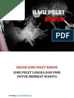 Ilmu Pelet Media Rokok Penakluk Wanita