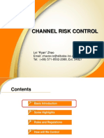 Channel Risk Control