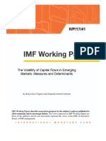IMF the Volatility of Capital Flows in Emerging Markets - Measures and Determinants,2017