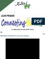 Lean IT Primer for  IT Ops
