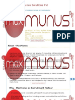 Corporate Profile MaxMunus