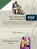 Pelayanan Prima Handout