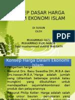 Konsep Harga Dalam Ekonomi Islam