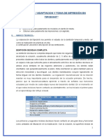 Practica Nº3 Adaptacion y Toma de Impresión en Tipodont