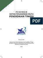PEDOMAN SISTEM PENJAMINAN MUTU DIKTI (rev 28 -03-2016).pdf