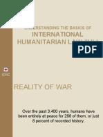 Basics of IHL and Fundamental Principles