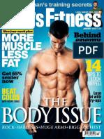 Mens Fitness January 2012 GB