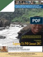 Monthly Individual Report - P3MD - Stephanus Mulyadi - TA PSD Kapuas Hulu-January 2017
