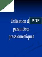 utilisation de parametres pressiometriques