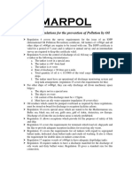 Marpol Summary
