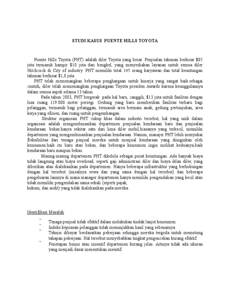 puente hills toyota case study