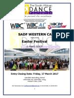 SADF WC Easter Festival Entry Form 01April2017