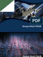Group Work PAUB