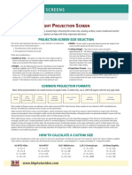 Draper - Projection Screen