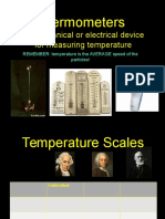 1. 4 Types of Thermometers